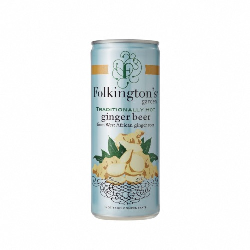 Folkington's Garden - Hot Ginger Beer (12x250ml)