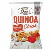 Eat Real GF - Quinoa Chips Paprika (10x80g)