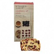 Miller's Toast - Cranberry & Raisin