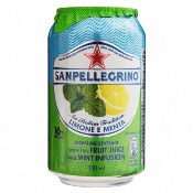 *San Pellegrino - Sparkling Lemon & Mint (24x330ml)