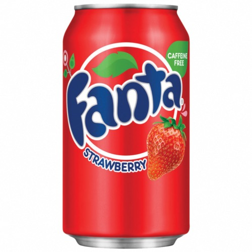 Fanta U.S. - Strawberry Soda (24x355ml)