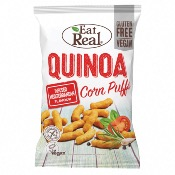 Eat Real GF - Quinoa Puffs Mediterranean Infused (12x113g)