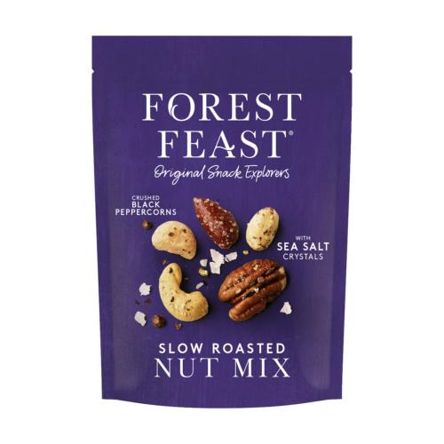 Forest Feast - Slow Roasted Nut Mix (8x120g)