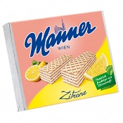 Manner Lemon Wafer Biscuits (12x75g)