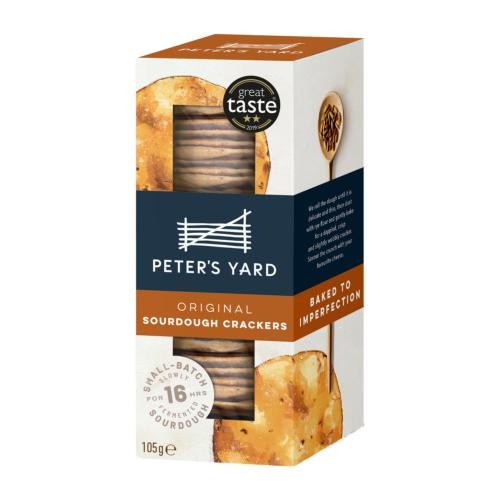 Peter's Yard - Original Sourdough Crispbread (12x105g)
