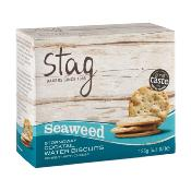 Stag - 'Cocktail' Water Biscuits with Seaweed (12x125g)