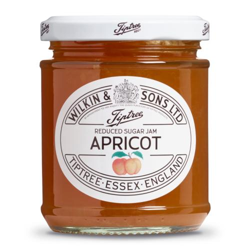 Wilkin & Sons - 'Reduced Sugar' Apricot Jam (6x200g)