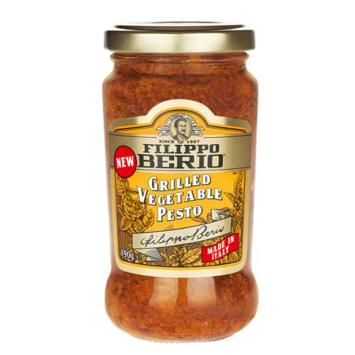 Filippo Berio - Grilled Vegetable Pesto (6x190g)