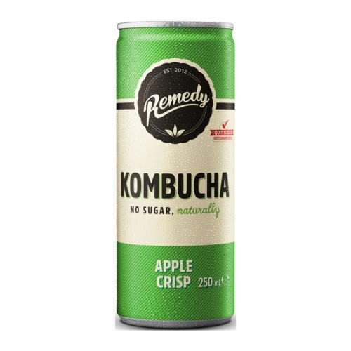 Remedy - KOMBUCHA 'Apple Crisp' (12x250ml Cans)
