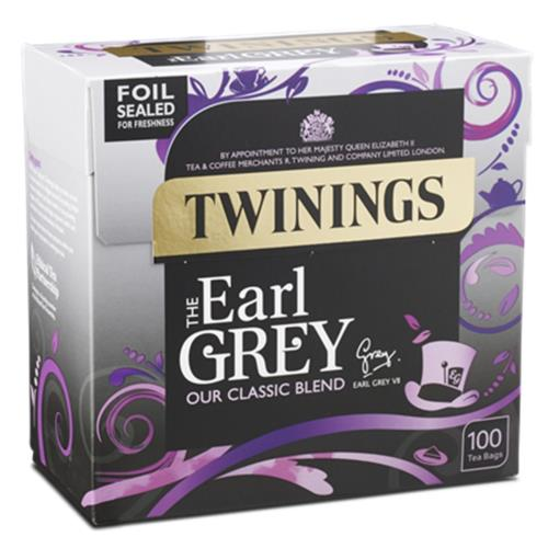 Twinings Tea Bags - 100's Earl Grey (4x100's)