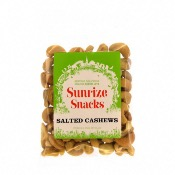 Sunrize Snacks Salted Cashews (12x100g)