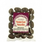 Sunrize Snacks Belgian Chocolate Brazils (12x100g)