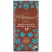 Divine - MILK Chocolate Toffee & Sea Salt (15x90g)