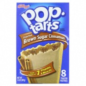 U.S. Kellogg's Pop Tarts - 8 Frost Brown Sugar Cinn (12x397g