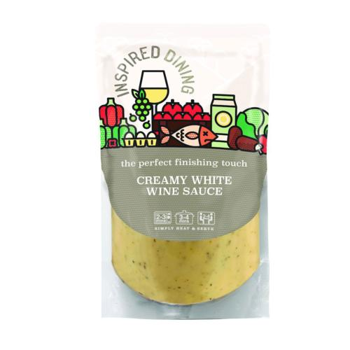 Inspired Dining - White Wine Sauce (8x200g)