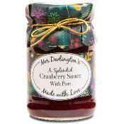 Mrs Darlington's - 'a splendid Cranberry Sauce & Port (6x200