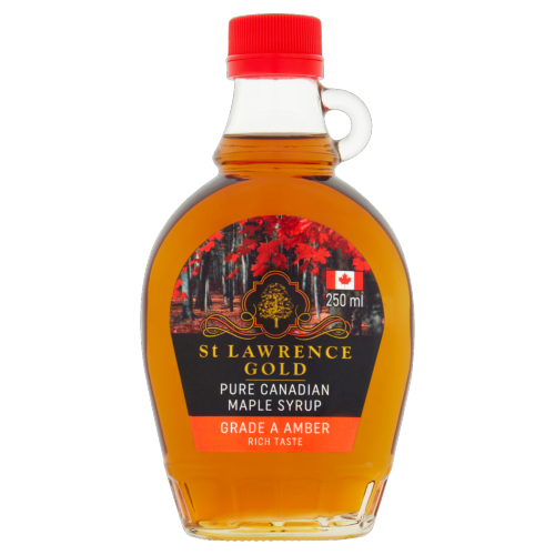 St Lawrence Gold - Maple Syrup 'grade A Amber' (6x250ml)