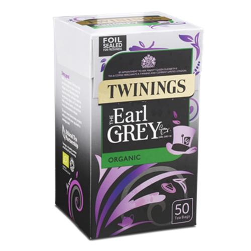 Twinings Tea Bags - Organic Earl Grey (4x50's)