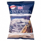 Kent Crisps GF Small - Sea Salt (20x40g)