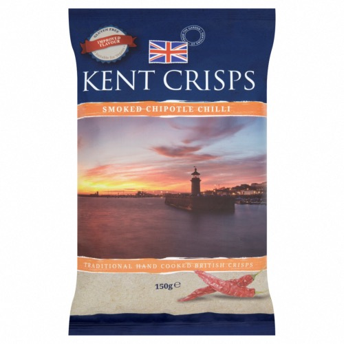 Kent Crisps GF Large - Smoked Chipotle Chilli (10x150g)