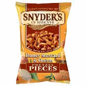 Snyder's Pretzel Pieces - Honey Mustard & Onion (10x125g)