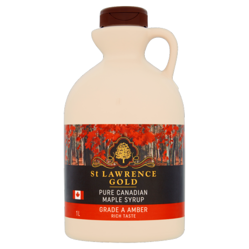 St Lawrence Gold - Maple Syrup 'grade A Amber' (6x1ltr)