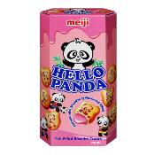 Meiji - Hello Panda Strawberry Biscuits (10x50g)