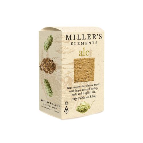Miller's Elements - 'Ale' Crackers (12x100g)