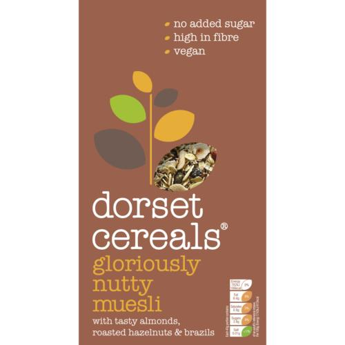 Dorset Cereals Muesli - Gloriously Nutty (5x500g)