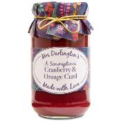 Mrs Darlington's - 'a scrumptious' Cranberry & Orange Curd