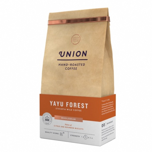 Union Coffee 'Wholebean' Yayu Forest - Ethiopian (6x200g)