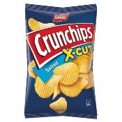 Lorenz - Crunchips X-Cut Salted (10x150g)