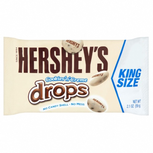 Hershey's - King Size Cookies n Cream Drops (18x59g)