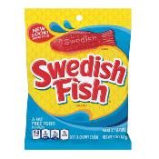 Swedish Fish - Red 'Peg Bag' (12x142g)