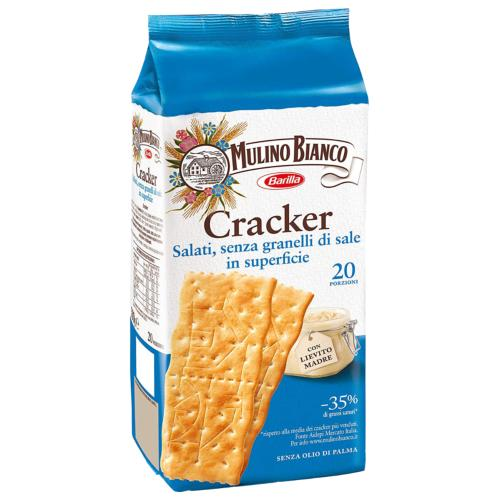 Mulino Bianco - Crackers 'Unsalted' (9x500g)