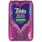 Tilda - Wholegrain Basmati Rice (10x500g)