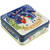 Farmhouse - Christmas Snow Globe Tin (8x400g)