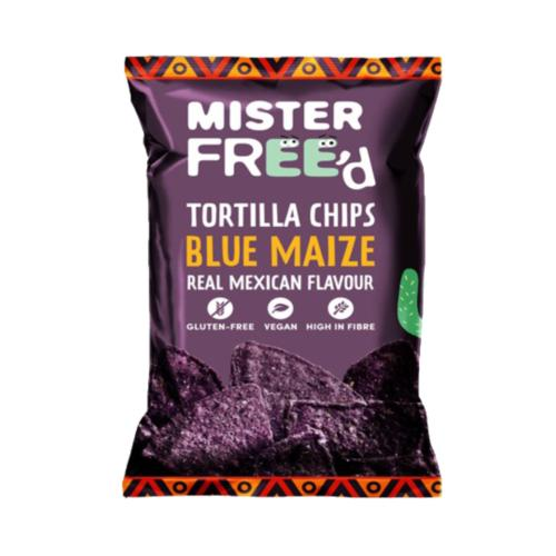 Mister Free'd Tortillas GF - BLUE MAIZE 'Vegan' (12x135g)
