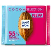 Ritter Sport - Dark 55% Smooth from Ghana (12x100g)