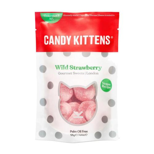 Candy Kittens GF - 'Wild Strawberry' Gourmet Sweets (9x125g)