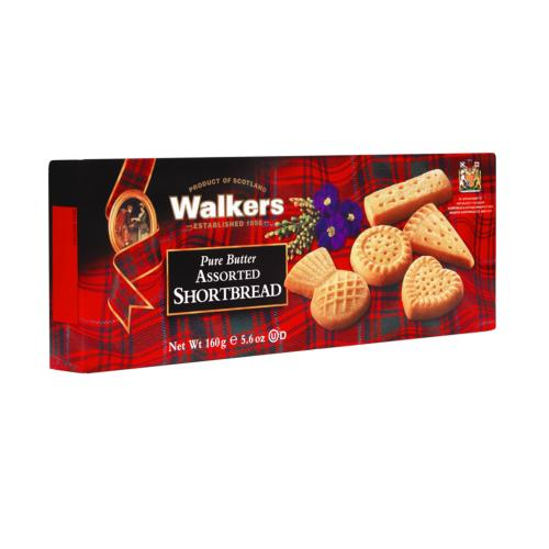 Walkers - Assorted Shortbread 'Boxed' (12x160g)