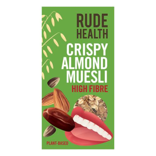 Rude Health - Almond Muesli (6x400g)