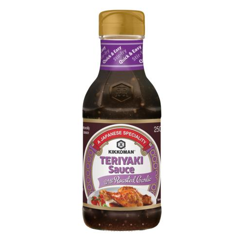 Kikkoman - Teriyaki Sauce with Roasted Garlic (6x250ml)