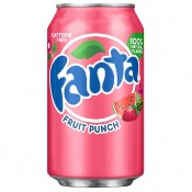Fanta U.S. - Fruit Punch Soda (24x355ml)