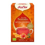 Yogi Tea - For the Senses 'Natrual Wellbeing' (6x17''s)
