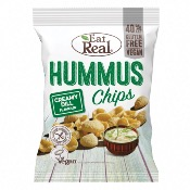 Eat Real GF - Hummus Chips Creamy Dill (10x135g)