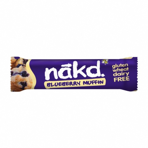 Nakd GF Bars Blueberry Muffin (18x35g)