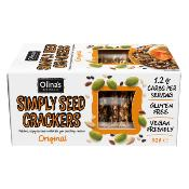 Olina's Bakehouse - GF Simply Seed Crackers 'Original' (12x8