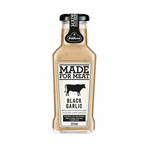 Made for Meat - Black Garlic & Pepper Sauce (8x235ml)