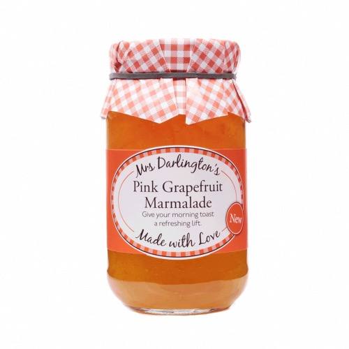 Mrs Darlington - Pink Grapefruit Marmalade (6x340g)